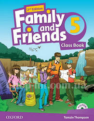Family and Friends 2nd (second) Edition 5 Class Book and MultiROM Pack (учебник/підручник 2-е издание)