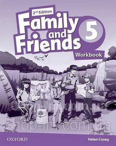Family and Friends 2nd (second) Edition 5 Workbook (рабочая тетрадь/зошит 2-е/второе издание), фото 2