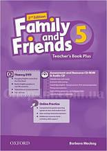 Family and Friends 2nd (second) Edition 5 Teacher's Book Plus (книга для учителя, 2-е/второе издание)