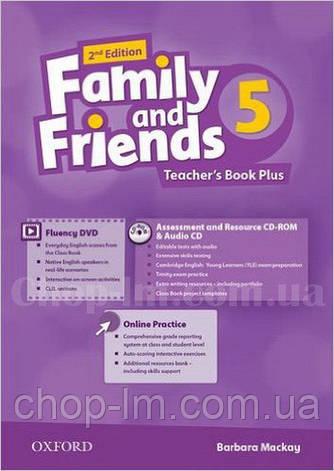 Family and Friends 2nd (second) Edition 5 Teacher's Book Plus (книга для учителя, 2-е/второе издание), фото 2