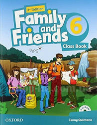 Family and Friends 2nd(second) Edition 6 Class Book  (учебник/підручник 2-е издание)