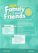 Family and Friends 2nd(second) Edition 6 Teacher's Book Plus (книга для учителя, 2-е/второе издание)