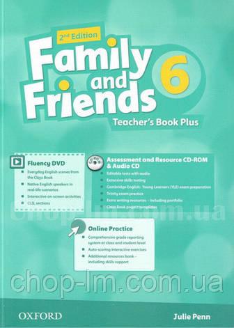 Family and Friends 2nd(second) Edition 6 Teacher's Book Plus (книга для учителя, 2-е/второе издание), фото 2