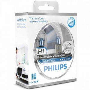 Philips White Vision 3700K +60% H1, фото 2