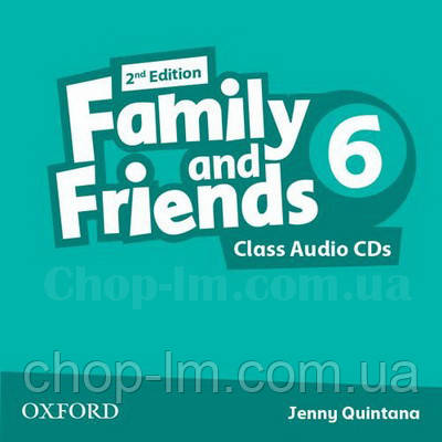 Family and Friends 2nd Edition 6 Class Audio CDs / Аудио диск к курсу