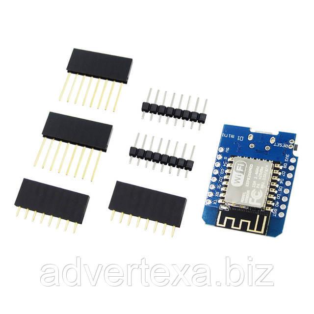 D1 Mini NodeMcu V3 4 М байт (32 Мбит) FLASH Lua WI-FI на ESP8266