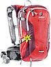 Женский компактный вело-рюкзак 10 л. DEUTER COMPACT EXP 10 SL, 32142 5513 красный