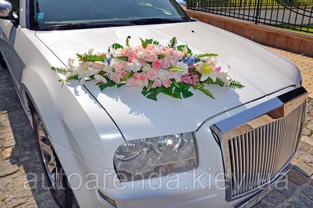 Оренда весільних прикрас на авто (4)