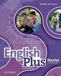 English Plus 2nd(second) Edition Starter Student's Book / Учебник 2-е издание