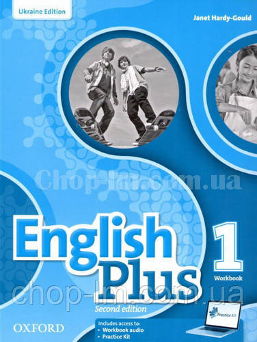 English Plus Second Edition 1 Workbook with access to Practice Kit (Edition for Ukraine) / Рабочая тетрадь