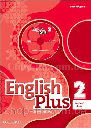 English Plus 2nd(second) Edition 2 Teacher's Book + Teacher's Resource Disk + Practice Kit (книга для учителя)