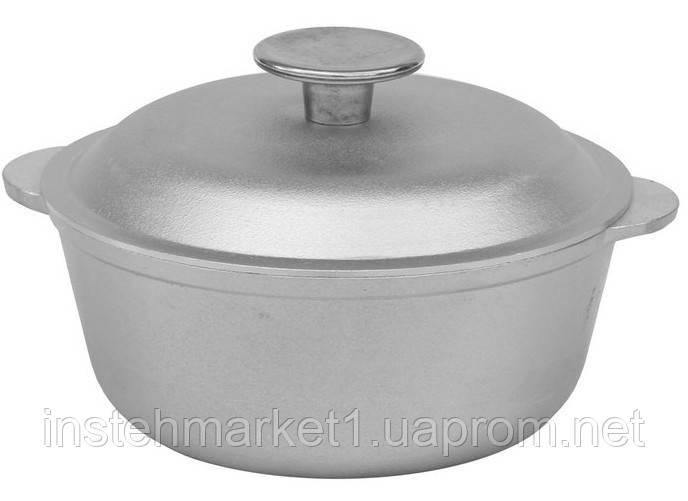 Кастрюля БИОЛ К0100 (1 л) алюминиевая с крышкой