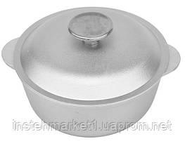 Кастрюля БИОЛ К0100 (1 л) алюминиевая с крышкой, фото 2
