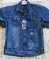 Сорочка джинсова для хлопчиків 1-4