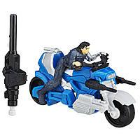 Мстители Марвел фигурка Зимний Солдат на боевом мотоцикле. Оригинал Hasbro