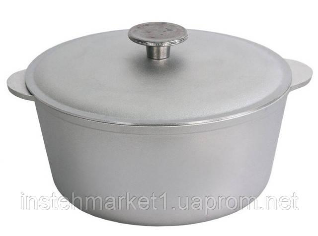Кастрюля алюминиевая БИОЛ К0100 с крышкой 1 л. в интернет-магазине