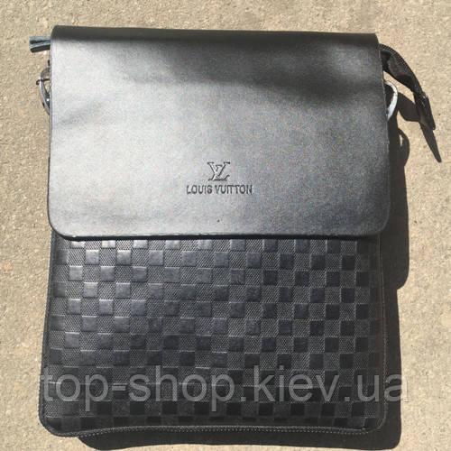 5f5da3334f12 Мужская сумка Louis Vuitton, черная Луи Виттон  продажа, цена в Киеве