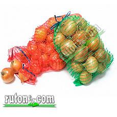 Сетка овощная 40х60 см./20 кг с верхней застежкой (синяя, красная, зеленая)