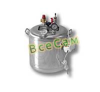 Автоклав бытовой из нержавейки «Гуд-8 Electro» (7 литровых/8 поллитровых банок)