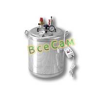 Автоклав бытовой из нержавейки «Гуд-16 Electro» (7 литровых/16 поллитровых банок)