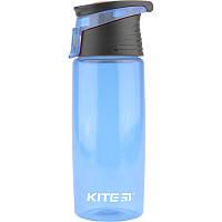 "Бутылка для напитков пластик ""Kite"" 550 мл K18-401-04 голубая"