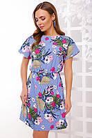 Женское летнее легкое платье (1738mrs)
