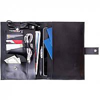 Папка - чехол для планшета из натуральной кожи Spitch - Black, фото 1