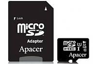 Карта памяти Apacer microSDHC UHS-I 32 Gb + SD class 10
