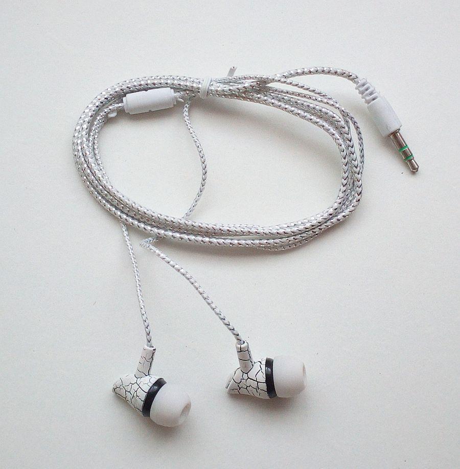 Вакуумні навушники (кабель на тканинній основі)