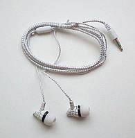 Вакуумные наушники (кабель на тканевой основе)
