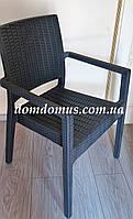 Кресло пластиковое Ibiza, Siesta, Турция серое