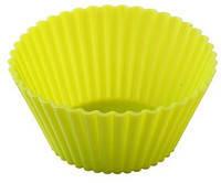 Форма для выпечки силиконовая Кекс классический маленький, Ромовая бабка маленькая