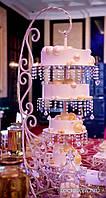 Самый лучший и шикарный свадебный торт. Подвесной-перевернутый свадебный торт Киев. Торт люстра
