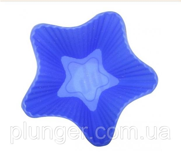Форма для випічки силіконова Кекс маленький зірочка