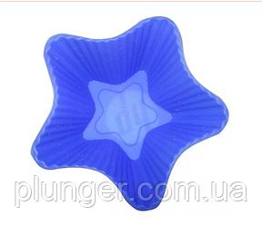 Форма для выпечки силиконовая Кекс маленький звездочка