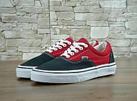 Кеды Vans ERA Black/Red (реплика), фото 1