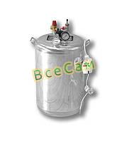 Автоклав бытовой из нержавейки «Гуд-24 Electro» (14 литровых/24 пол литровых банок)