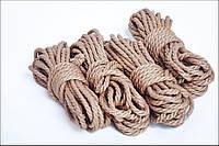 Веревка для шибари, натуральная 6мм/8м, джут