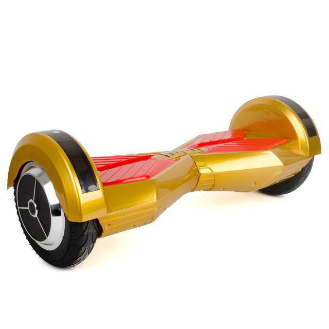 "Гироборд-скутер электрический. 4400 мАч, колеса 8"". Gold Intertool SS-0805"