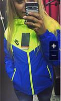 Ветровка женская спортивная на подкладке, фото 1