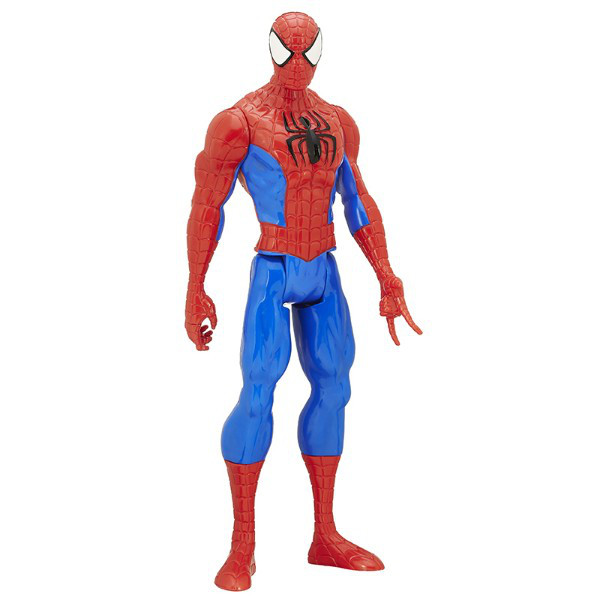 "Hasbro Фигурка человек-паук серия ""Титаны"" B9760 Marvel Spider-Man Titan Hero Series Spider-Man Figure"