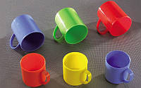 Чашка пластик 0,4 GR-03046 / Горизонт /