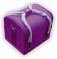 Чемодан мастера тканевый фиолетовый 2700-1ВВ Yre