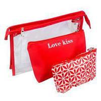 Косметичка Love Kiss 3 в 1 Yre