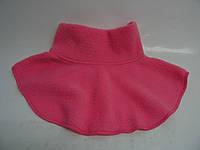 Горлышко  - шарфик малиновый