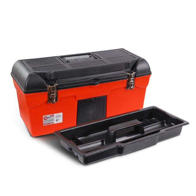 "Ящик для инструмента с металлическими замками 24"" 610*255*251мм. Intertool BX-1123"