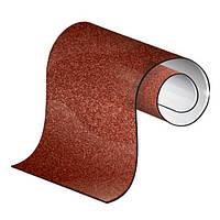 Шлифовальная шкурка на тканевой основе К80, 20cм*50м Intertool BT-0718