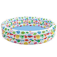 Детский надувной бассейн «Конфетти» Intex 56440 168х41 см