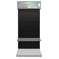 Стенд выставочный TOPTUL  часть1 (панель, 920х450х2100мм, цвет черный) TDAD2192