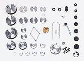 Набор адаптеров HunterPro Elite (к станку для проточки тормозных дисков) 20-2615-1